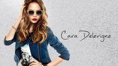 Cara Delevingne Blue Denim Jacket and Black Sun Glasses Wallpaper - HD Wallpapers - Free Wallpapers - Desktop Backgrounds