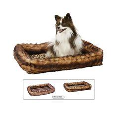 Reversible Faux Mink Pet Bed at 47% Savings off Retail!