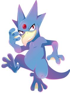 #055 Golduck by Kuitsuku.deviantart.com on @DeviantArt