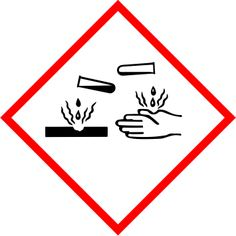 Señal sustancias peligrosas