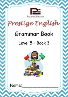 English Grammar Book  Level 5  Book 3This is the 15th and final book in the 15 book series of the Prestige English Grammar Series.Recommended for advanced beginners and students who already have a good grasp of English grammar.Please also download the 20 page FREE SAMPLE file of this booklet to preview its content and assess it suitability to your students level.Book Content:1.