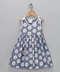 Gray Daisy Dress from Moo Boo's on #zulily!