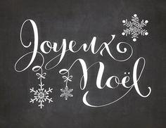 Les Françaises aiment la Noël. J'aime la Noël aussi.