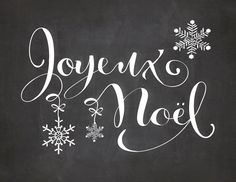 Free Holiday Printable - Joyeaux Noel. By Amy from SpoonLily Designs for The Graphics Fairy. #Christmas #Printables