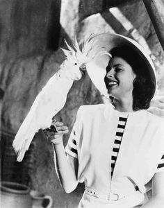 Ingrid Bergman on the set of Casablanca (1942)