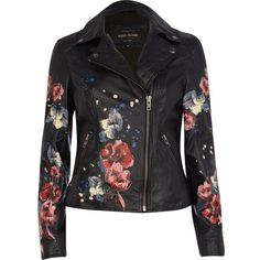 A fabulous year-round statement piece, this feminine update on the classic biker is a necessary investment. The perfect injection of flower power, this feature…