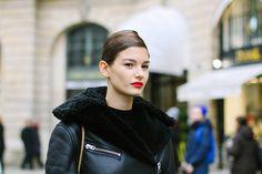 #StreetStyle en la Alta Costura de París, enero 2015 © Iciar J. Carrasco