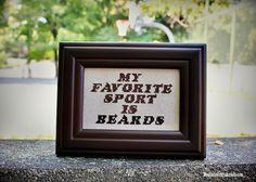 My favorite sport is beards.