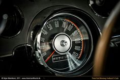 Mustang speedometer