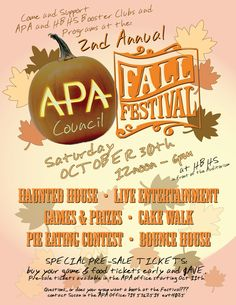 Fall Festival Flyer Templates | Flyers, Fall and Festivals