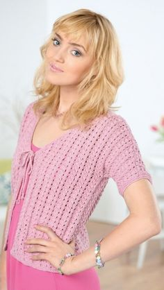 Shell Cardigan - free knitting pattern to download over the Let's Knit website!