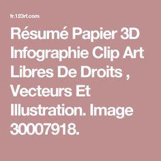 Résumé Papier 3D Infographie Clip Art Libres De Droits , Vecteurs Et Illustration. Image 30007918.