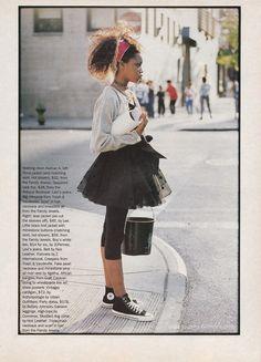 '80s Fashion Nostalgia In the '90s