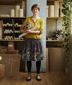 Hannah Nunn: Papercut artist