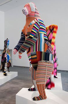 Artist Nick Cave  - has an exhibit at the Corcoran in Washington D.C.