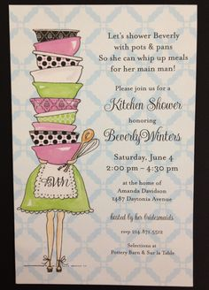 Couples wedding shower invitation wording party of the year kitchen shower this is cute the bride would have fun in asking for a filmwisefo