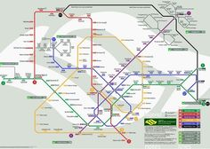 4-day Itinerary when visiting Singapore Singapore's MRT lay out.   Study it and make the most of your time in Singapore
