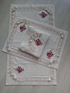 Canvas mop tk order is taken - Harika El işleri-Hobiler Hand Embroidery Tutorial, Embroidery Patterns, Cross Stitch Patterns, Viking Tattoo Design, Viking Tattoos, Pink Bathroom Accessories, Bathroom Crafts, Bathroom Ideas, Decorative Towels