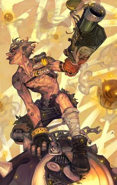 Amazing Junkrat art
