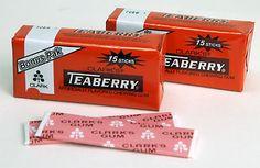 #TeaberryGum