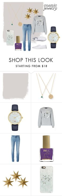 """""""sagittarius."""" by herminedanger ❤ liked on Polyvore featuring Aéropostale, Kate Spade, Paper London, Givenchy, ncLA, LumaBase, Casetify and Vans"""