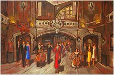 Peinture de Claude Bonneau