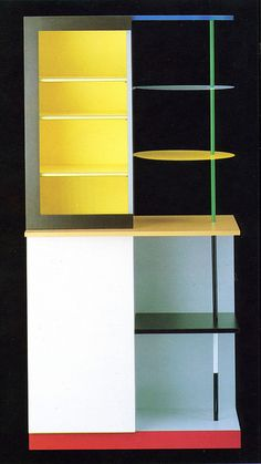 "Memphis Design Group. Taylor's ""Airport"" Cabinet 1982"