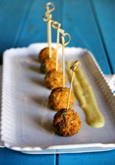 Polpette di lenticchie speziate - finger food - Spicy Lentils Balls