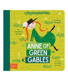 Take a look at this Anne of Green Gables Board Book today!