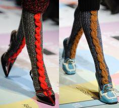 Prada socks (and those gorgeous shoes!!)