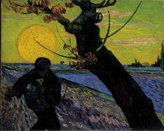 De zaaier, Vincent van Gogh, 1888.