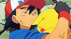 Ash Ketchum and Pikachu ^.^ <3