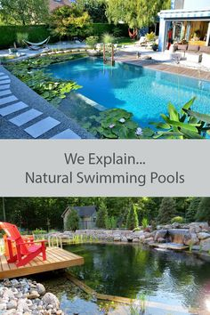 What Is A Natural Swimming Pool? What Is A Natural Swimming Pool? The post What Is A Natural Swimming Pool? & garten appeared first on Natural swimming pools . Pool Spa, Natural Swimming Ponds, Natural Pond, Swimming Pools Backyard, Swimming Pool Designs, Lap Pools, Indoor Pools, Pool Decks, Natural Backyard Pools