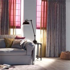 A House Of Happiness Curtains Curtains Home Living, Living Room, Romantic Flowers, Trends, Window Coverings, Ramen, Cool Designs, Sweet Home, Home Appliances