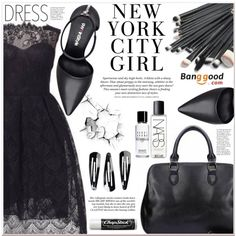 A fashion look from March 2016 by lucky-1990 featuring Nine West, NLY Accessories, NARS Cosmetics, Bobbi Brown Cosmetics, H&M, Chapstick and BangGood