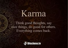 """Let's talk about karma. This word is rooted in sanskrit which means """"doing"""". Karma Quotes, Life Quotes Love, Wisdom Quotes, Great Quotes, Quotes To Live By, Me Quotes, Buddhist Quotes, Spiritual Quotes, Positive Quotes"""