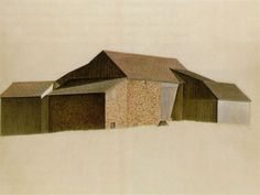 charles sheeler - Bucks County, PA barn