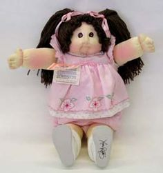 Cabbage Patch Kids ~ and I don't mean the cheapo plastic ones