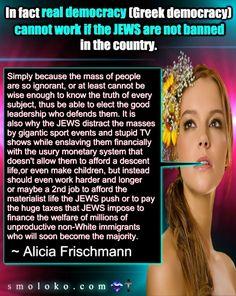 Dlaczego Żydzi nienawidzą europejskich monarchii? Alicia Frischmann – Wolna Polska – Wiadomości