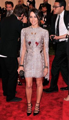 Met Gala 2013: See All the Red Carpet Looks - Aubrey Plaza