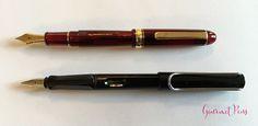 Review Platinum #3776 Century Bourgogne Fountain Pen - Soft-Fine @PenChalet @CarolLuxury (13)