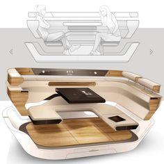 Volvo union concept #interiordesign #automotive #automotivedesign #cardesign #car #interior #autonom #sketch #sketchbook #rendering #photoshop #story Bmw Interior, Car Interior Sketch, Car Interior Design, Automotive Design, Car Design Sketch, Yacht Interior, Car Sketch, Interior Colors, Interior Design Renderings