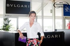 Nieves Álvarez, matron of honor for Bulgari, official sponsor of the Gold Cup, delivered the Cup to the champions of the most important polo tournament in continental Europe.
