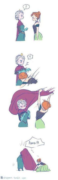 Elsa and Anna part 1