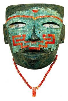 Aztec mosaic mask  I love these