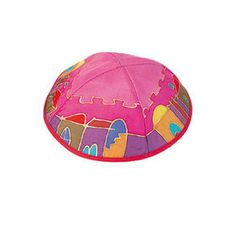 Silk Painted Kippah of $ 11.99 only. Yair Emanuel is proud to present their exciting collection of Silk Painted Kippas. The design of Jerusalem under a crimson sky is outlined in gold, making the scene and picture glow with radiance. For more details visit http://yarmulkes.com/system/scripts/results_big.cgi?product=YAS-8