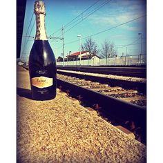 #Travel & #explore with #Fantinel! #wine #goodwine #italianwine #italianbeauty #railway #train #railroad #rails #landscape #travelling #around #europe #asia #africa #america #australia #worldwide... #OneAndOnly #Prosecco #sparklingwine #bubbles #winetime #winetour #winecountry #traveller #drinker #winelover  #Enjoy your #trip! #Cheers!