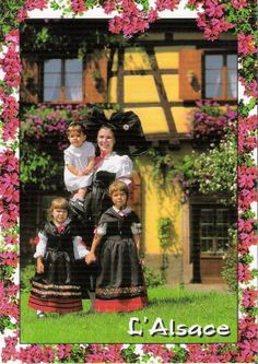 France - Alsace costumes | Flickr - Photo Sharing!