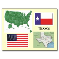 Texas, USA Postcard