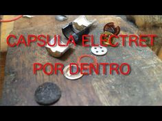 Tecnosanos ( cursos y news ): Despiece de una capsula microfonica electret